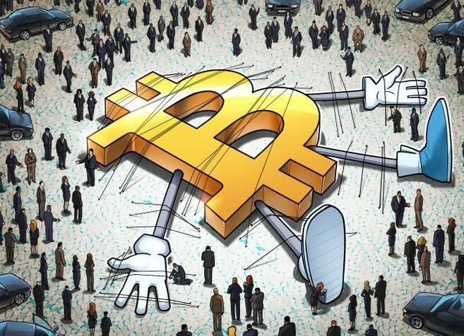 Инвесторы начали скупать BTC на фоне его падения