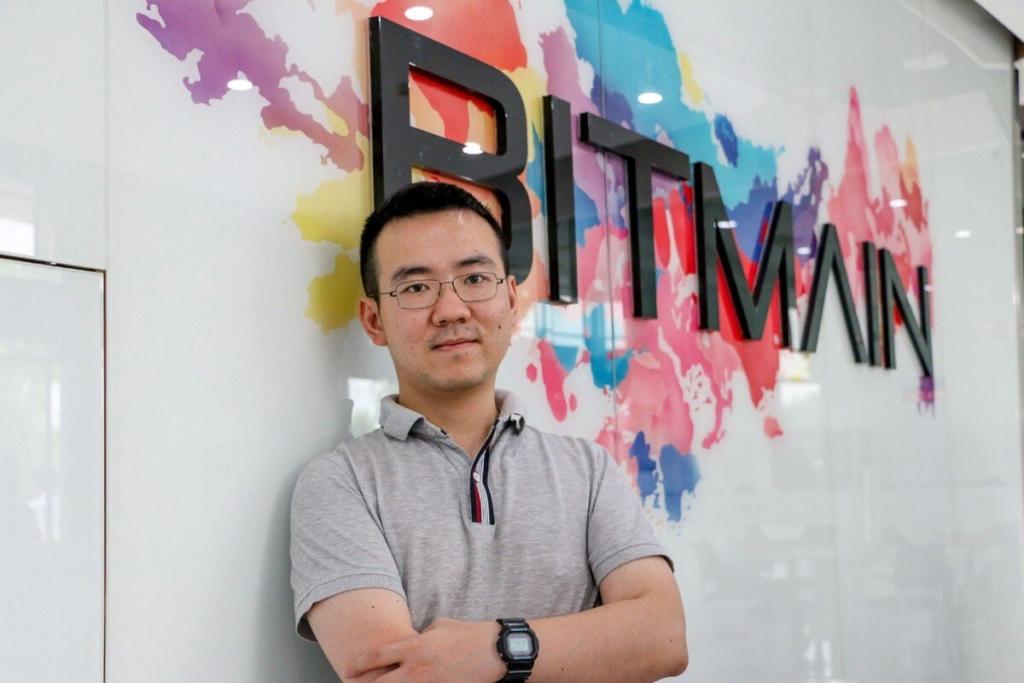 Джихан Ву, основатель компании Bitmain